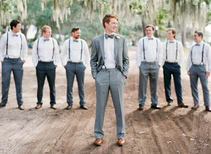 Hosenträger für den Bräutigam