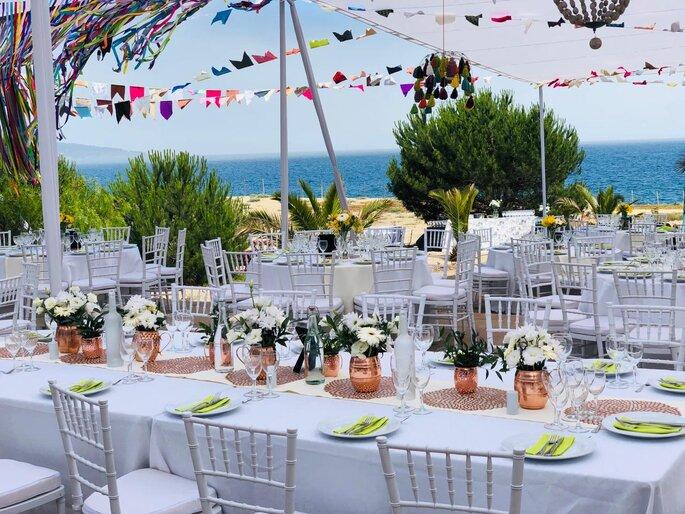 Banquetes & flores - Adolfo Cartajena G