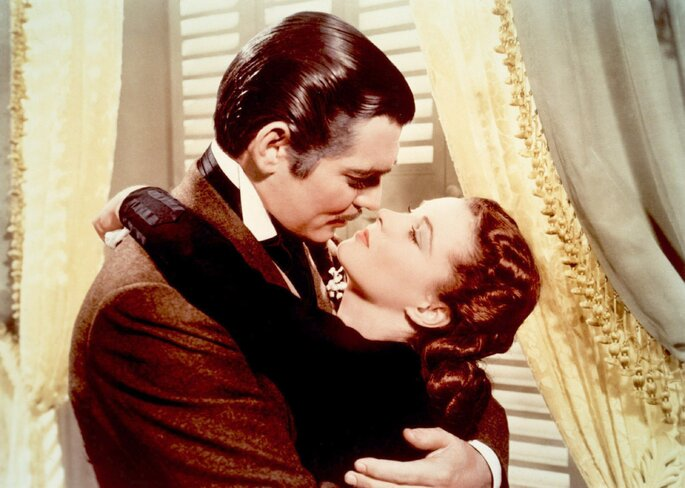 scarlett and rhett butler gone with the wind