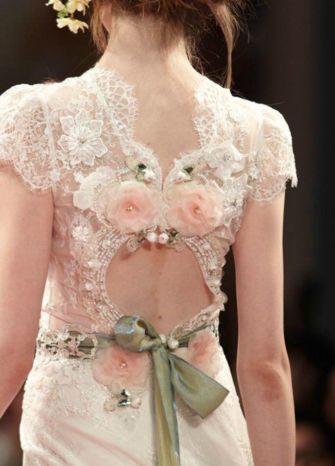 Detalle de vestido Beauty, de Claire Pettibone colección 2014. Foto: Clare Pettibone vía Tumblr