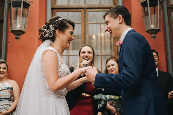 Alegria noivos