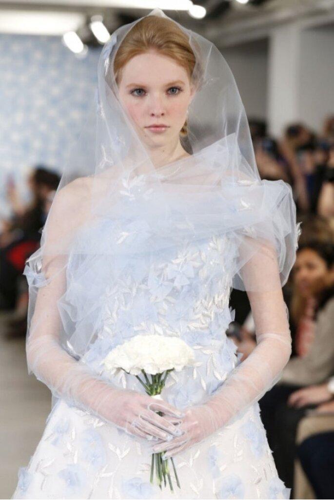 Los velos de novia más elegantes para 2014 - Foto Oscar de la Renta