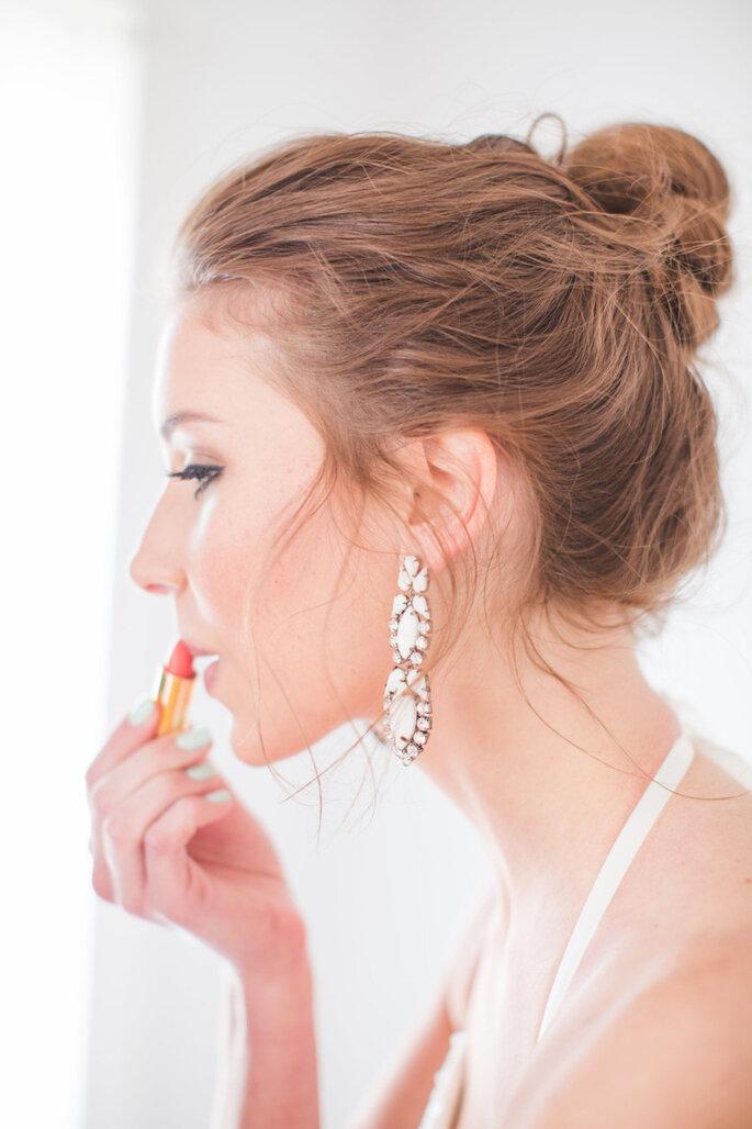 8 tendencias en belleza para novias que serán extraordinarias este 2015 - Aly Carroll
