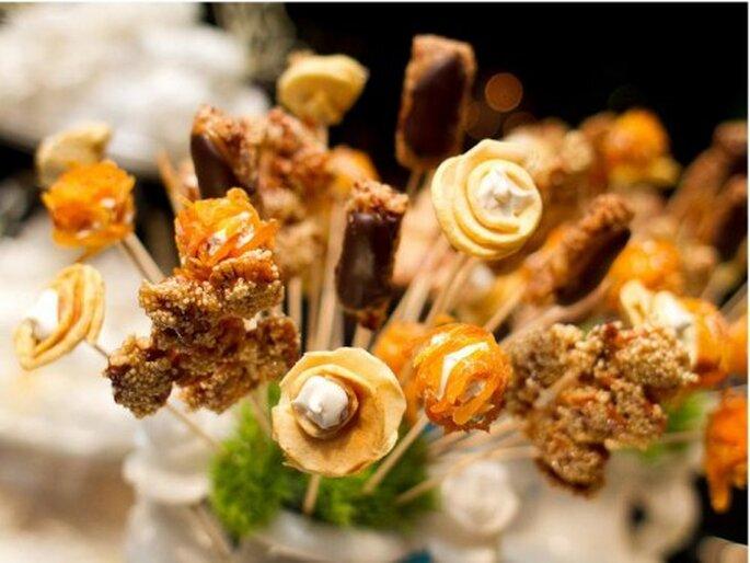 Dulces típicos de alegría para la mesa. Foto de Pepe Orellana
