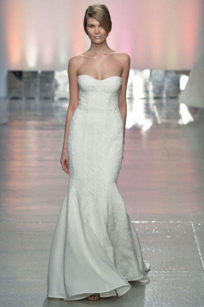 Vestidos de novia 2015 con corpiños estructurados - Rivini