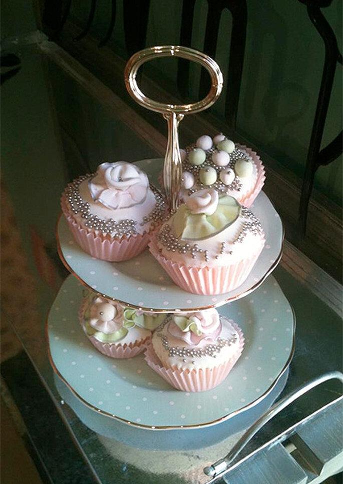 Bandejita de cupcakes de Dreams&Cakes. Foto: Raúl Fuentes Acosta