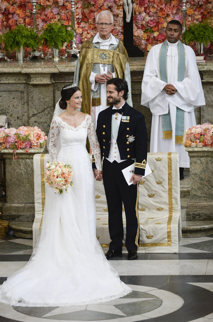 Príncipes Carlos Felipe y Sofía de Suecia. Photo: Gtres Online