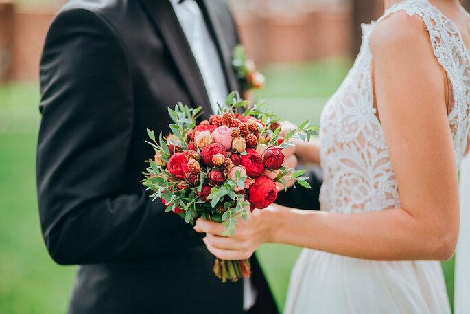 Tradiciones: el padre entrega a la novia