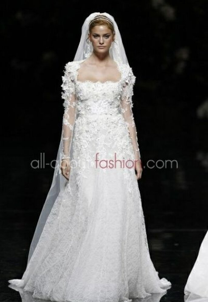 Elie Saab für Pronovias - Foto: all-about-fashion.com