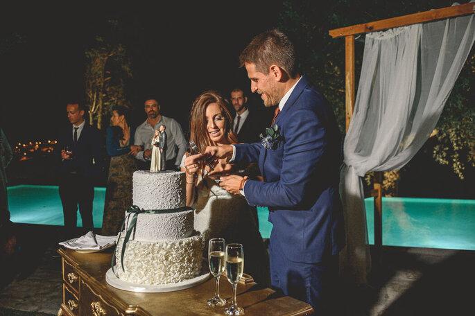 Corte do bolo