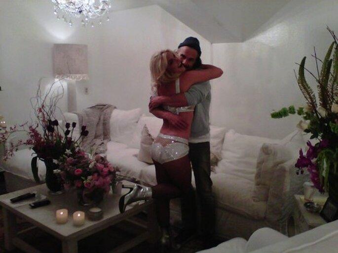 Britney Spears comprometida con Jason Trawick - Foto Britney Spears Facebook