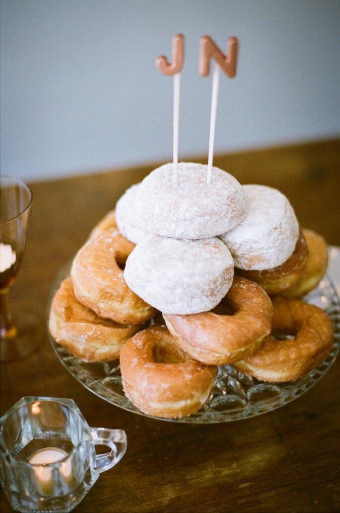 Pasteles de boda que romperán esquemas en 2015 - Foto Lily Glass Photography