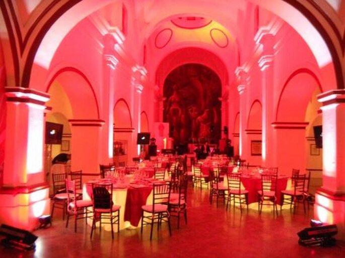 La mesa rosa
