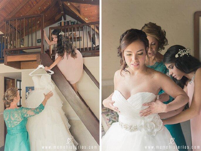 Foto: Meme historias de bodas