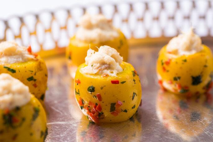 batatas recheadas para casamento