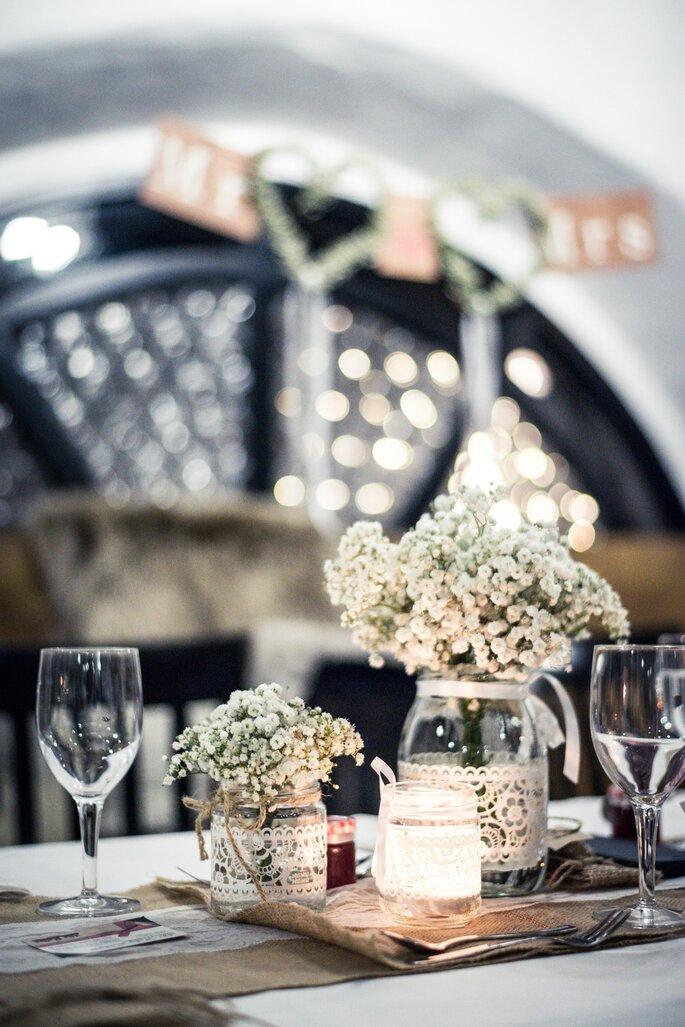 Ausschnitt Hochzeitstafel