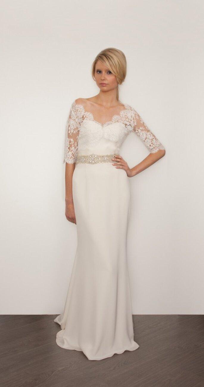 Vestido de novia inspirado en Adele - Foto Sarah Janks