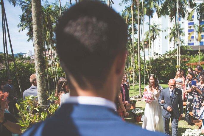 casamento romântico diurno em Florianópolis