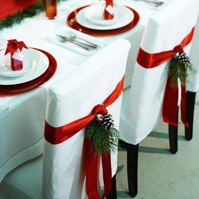 Décoration raffinée et élégante pour un mariage en décembre