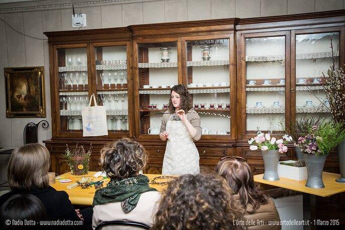 Laboratorio Fiori, colori, fantasia con Serena Gandolfo