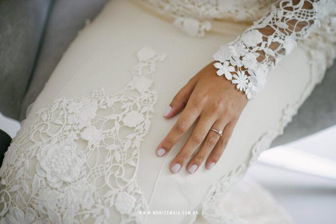 Vestido Yolan Cris para Casamarela Noivas