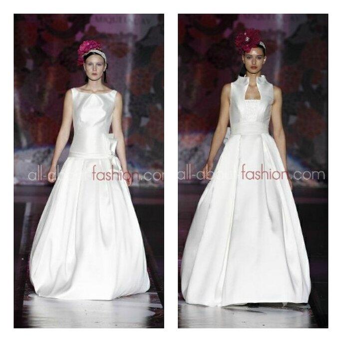 Proposte di abiti da sposa futuristici da Miquel Suay per il 2013. Foto: all-about-fashion.com