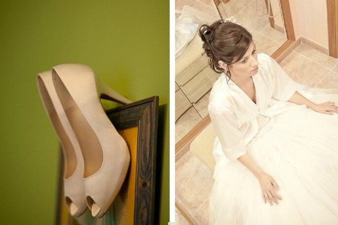 Rien de tel qu'une wedding planner pour rassurer la mariée... - Photo : Chema Naranjo
