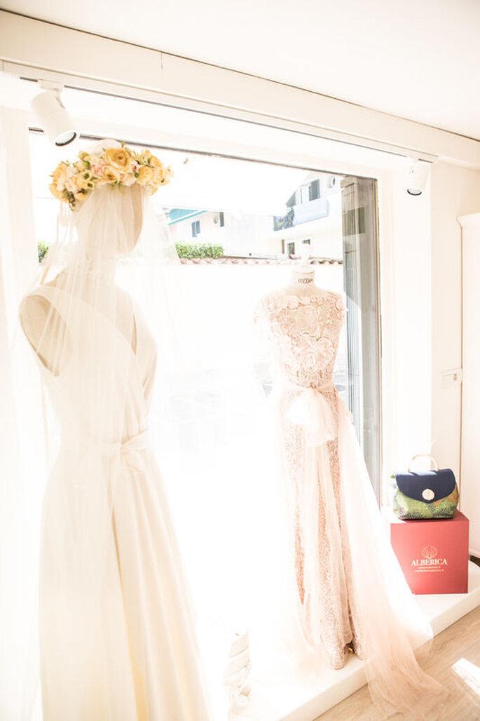 Alberica Boutique - collezioni di abiti da sposa uniche