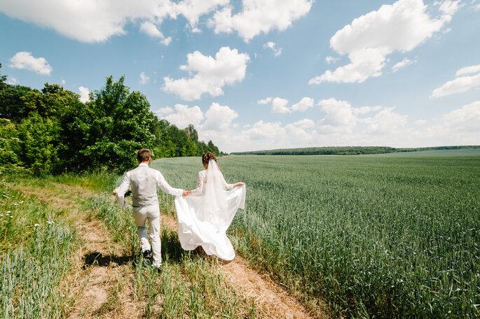 Foto´s maken na bruiloft