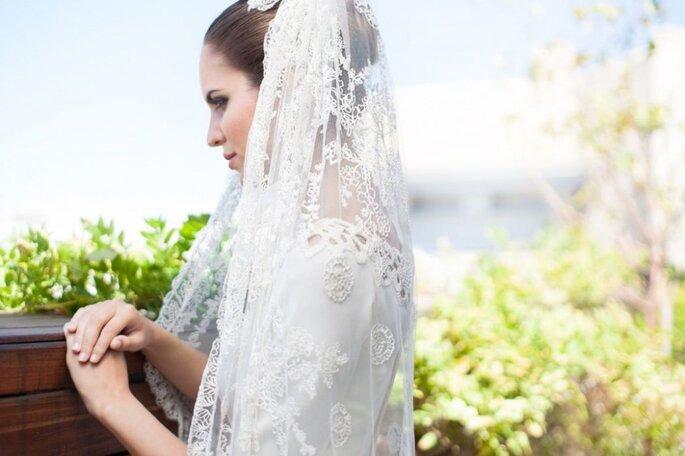 llevar velo en la boda
