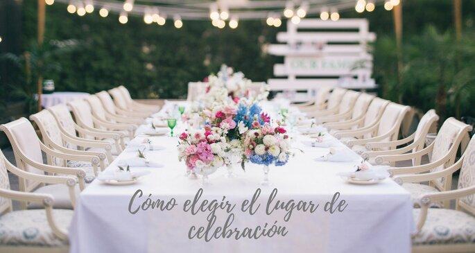 Cómo elegir lugar de celebración de la boda