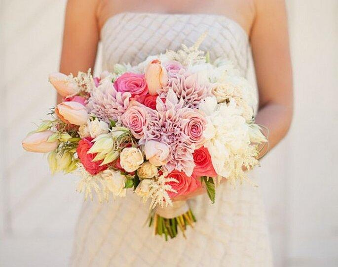Los ramos de novia más bonitos para el 2014 - Foto Ashley Rose
