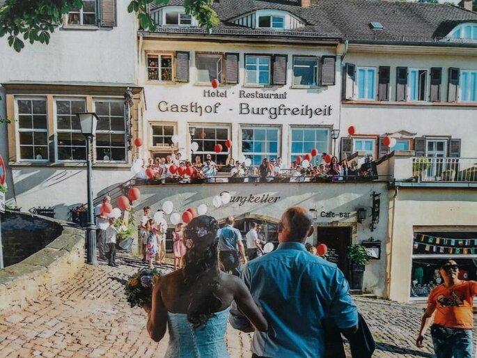 Hochzeit bei Gasthof Burgfreiheit
