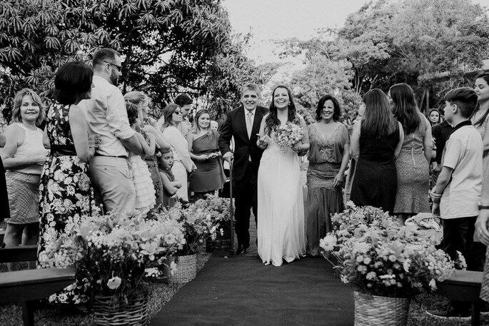 entrada noiva mariana