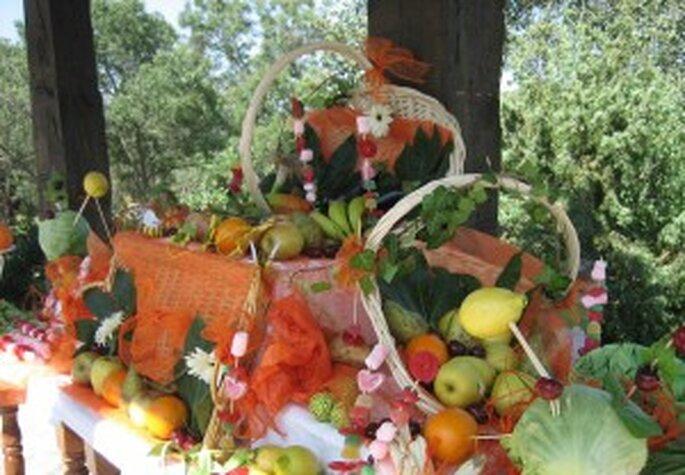 Toda clase de frutas para los niños