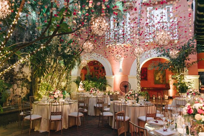 Casa Fernández de Madrid Decoración para bodas Cartagena