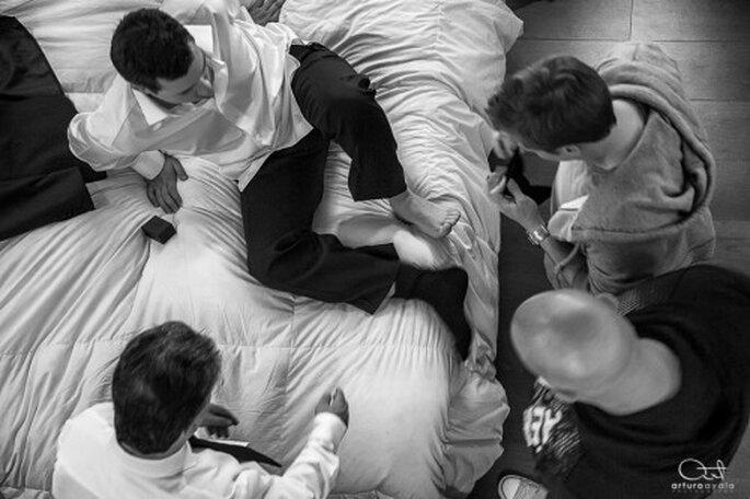 Der Bräutigam soll sich die Zeit nehmen die er braucht. Foto: Arturo Ayala