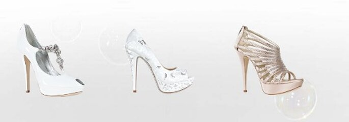 Open toe, sandali, decolletè...ce n'è per tutti i gusti nella Collezione Sposa Loriblu 2012