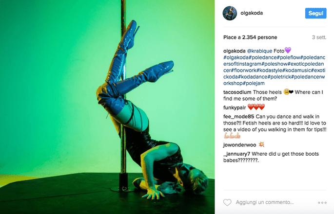 Foto via Instagram @olgakoda