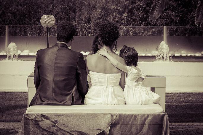 Niños en la ceremonia matrimonial. Foto: Marcos Pedro Photography