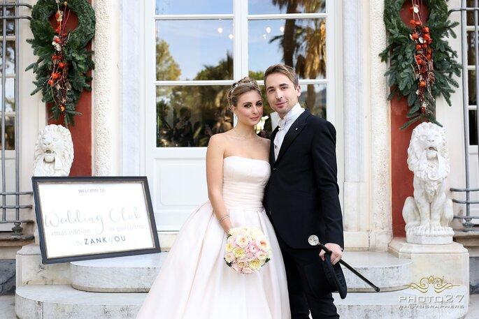 Antonio Riva per la sposa e Carlo Pignatelli per lui