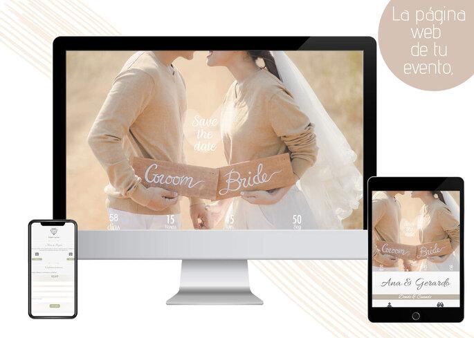 Invitaciones web para bodas