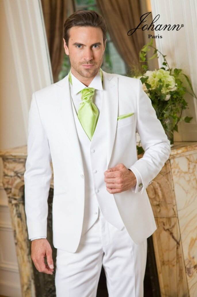 6b7748710964f Johann : costumes, redingotes et accessoires pour un marié top chic
