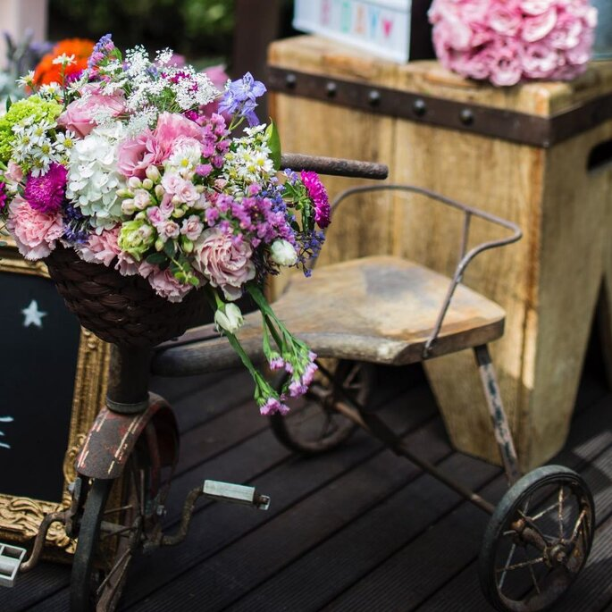 Peças decorativas para casamento