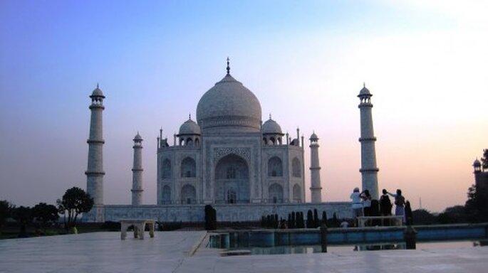 Das Wahrzeichen Indiens: Taj Mahal. Foto: Enchanting Travels