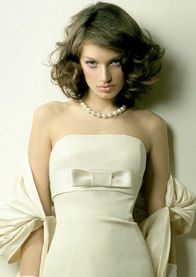 da51b6c5edf1 El glamour de las perlas para la boda