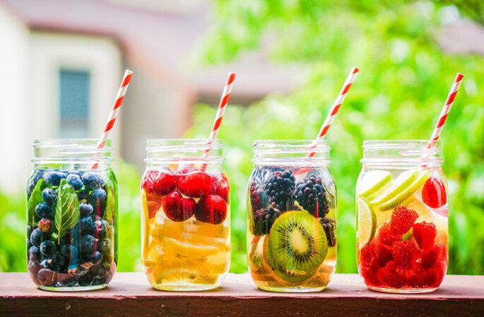 Dieta detox pre boda que ninguna novia debería perderse. Fotos: AlenaNex via Shutterstock (3)