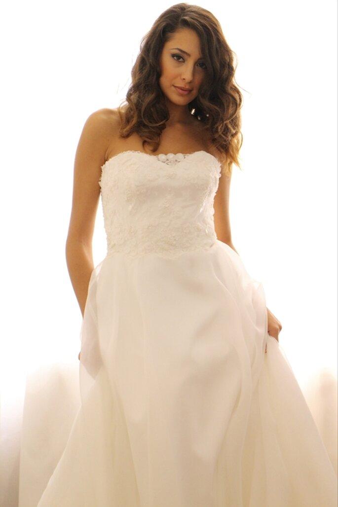 8878525301a8 3. Le tre caratteristiche che dovrebbe avere l abito da sposa sartoriale  perfetto