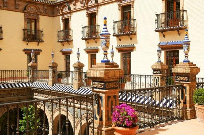 Luxe et confort caractérisent l'Hôtel Alfonso XIII à Séville