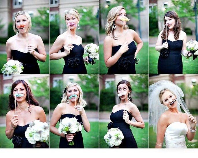 Un souvenir amusant et décalé de votre mariage ! - Photo : Millie